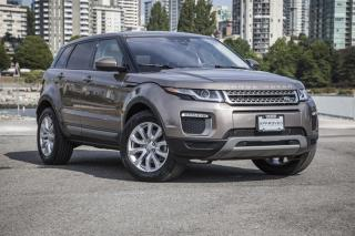 Used 2017 Land Rover Evoque SE *Navigation! Certified Pre-Owned Warranty! for sale in Vancouver, BC