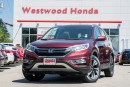 Used 2015 Honda CR-V Touring - Factory Warranty until 2021 for sale in Port Moody, BC
