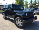 Used 2013 Jeep Wrangler UNLIMITED SAHARA**LEATHER**NAVIGATION** for sale in Mississauga, ON