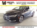 Used 2016 Chrysler 200 C|NAVIGATION|SUNROOF|LEATHER|22,897 KMS for sale in Kitchener, ON