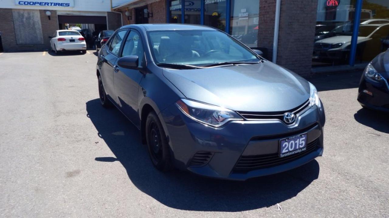2015 Toyota Corolla LE/BACKUP CAMERA/IMMACULATE $10999