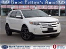 Used 2014 Ford Edge SEL MODEL LEATHER w/SUEDE PANROOF NAV CAMERA 6CYL for sale in North York, ON