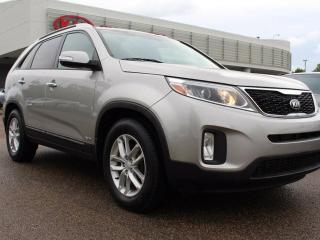 Used 2015 Kia Sorento LX V6, HEATED SEATS, POWER SEATS, BUTTON START, AUX/USB for sale in Edmonton, AB