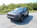 Used 2016 Jeep Cherokee TRAILHAWK  LOADED!!!!  ORIGINAL MSRP $47,139!!!!! for sale in Halifax, NS