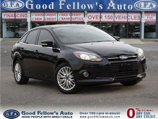 Used 2013 Ford Focus TITANIUM, SUNROOF, CAMERA, LEATHER for sale in North York, ON