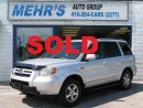 Used 2006 Honda Pilot EX-L 8 PASS DVD LEATHER SUNROOF for sale in Scarborough, ON