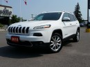 Used 2015 Jeep Cherokee Limited - Leather - NAV - Power Tailgate for sale in Belleville, ON