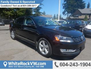 Used 2015 Volkswagen Passat 2.0 TDI Comfortline POWER MOONROOF, CRUISE CONTROL, KEYLESS ENTRY & A/C for sale in Surrey, BC