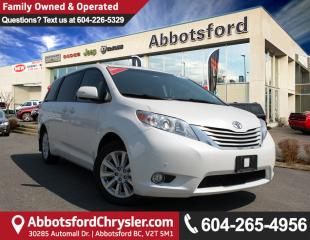 Used 2014 Toyota Sienna XLE 7 Passenger # 3 VALUE RANK IN BC! for sale in Abbotsford, BC
