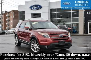 Used 2013 Ford Explorer LTD - BLUETOOTH - LEATHER - MOONROOF - NAV for sale in Ottawa, ON