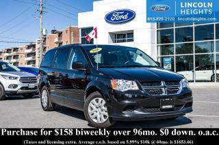 Used 2016 Dodge Grand Caravan SE Plus for sale in Ottawa, ON