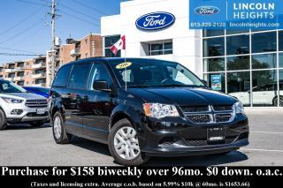 Used 2016 Dodge Grand Caravan SE Plus for sale in Ottawa, ON