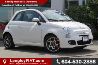 Used 2013 Fiat 500 Sport B.C OWNED, NO ACCIDENTS for sale in Surrey, BC