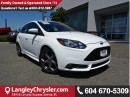 Used 2014 Ford Focus ST Base W/ NAVIGATION & LEATHER INTERIOR for sale in Surrey, BC