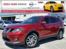 Used 2014 Nissan Rogue SL AWD w/NAV,all leather,pwr group,rear cam,climate control,panoramic roof for sale in Cambridge, ON