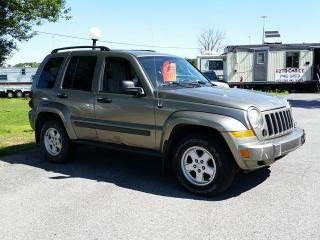 Used 2007 Jeep Liberty Sport for sale in Gloucester, ON