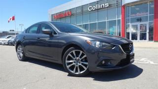 Used 2015 Mazda MAZDA6 GT | BACK-UP CAM | LOW KMS | LEATHER for sale in St Catharines, ON
