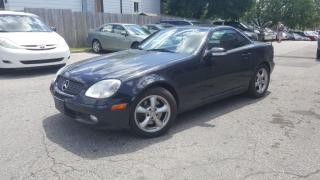 Used 2002 Mercedes-Benz SLK 320 CABRIOLET for sale in Cambridge, ON