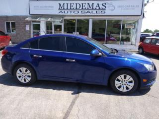 Used 2012 Chevrolet Cruze LT for sale in Mono, ON