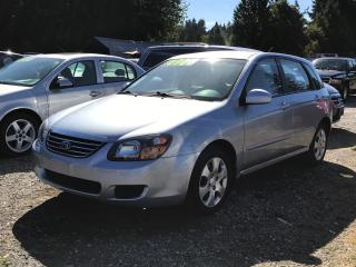 Used 2008 Kia Spectra5 SX Hatchback, Power Group, Automatic, Clean! for sale in Surrey, BC