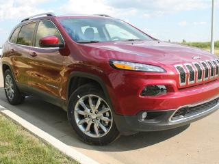 Used 2017 Jeep Cherokee Limited 4x4 / Rear Back Up Camera for sale in Edmonton, AB