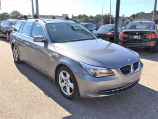 Used 2008 BMW 535xi ALL WHEEL DRIVE | NAVI|ACCIDENT FREE | PANO ROOF for sale in Markham, ON