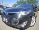 Used 2014 Toyota Avalon Limited with Premium Package-NEW tires-Super clean for sale in Mississauga, ON