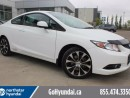 Used 2013 Honda Civic Si COUPE NAV SUNROOF HEATED SEATS for sale in Edmonton, AB