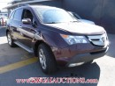 Used 2009 Acura MDX SPORT 4D UTILITY for sale in Calgary, AB
