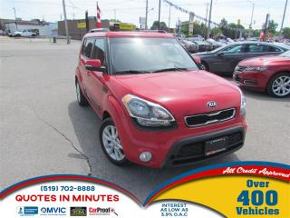 Used 2013 Kia Soul 2U | ALLOYS | CLEAN | $0 DOWN OPTIONS for sale in London, ON
