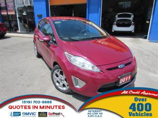Used 2011 Ford Fiesta SES | GAS SAVER | GREAT FIRST CAR for sale in London, ON