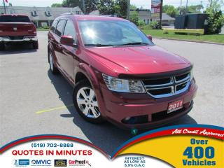 Used 2011 Dodge Journey SXT | BACKUP CAM | SAT RADIO | BLUETOOTH for sale in London, ON