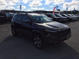 Used 2016 Jeep Cherokee Trailhawk for sale in Owen Sound, ON
