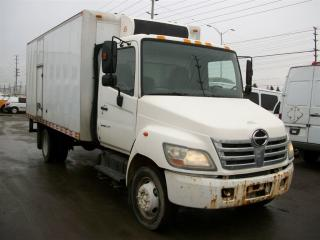 Used 2006 Hino 185 16 ft straight truck with reefer for sale in Mississauga, ON