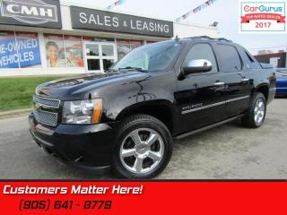 Used 2013 Chevrolet Avalanche LTZ  BLACK-DIAMOND NAV ROOF COOLED-SEATS PWR-BOARDS for sale in St Catharines, ON