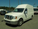 Used 2012 Nissan NV 2500 Cargo 2500 HD S V6 High Roof with Rear Shelving and Bulkhead Divider for sale in Burnaby, BC