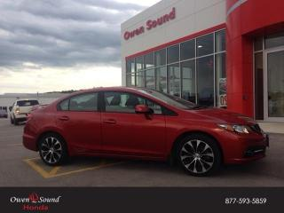 Used 2013 Honda Civic Sdn Si for sale in Owen Sound, ON