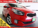 Used 2014 Kia Rondo LX| HEATED SEATS| BACK UP SENSORS| for sale in Burlington, ON
