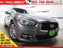 Used 2014 Infiniti Q50 Premium| AWD| LEATHER| SUNROOF| NAVI| for sale in Burlington, ON
