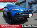 Used 2017 Jeep Cherokee Trailhawk w/Parallel Park Assist & Navigation for sale in Surrey, BC