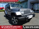Used 2016 Jeep Wrangler Unlimited Sahara w/NAVIGATION & BLUETOOTH for sale in Surrey, BC