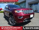 Used 2017 Jeep Grand Cherokee Overland W/ AIR RIDE SUSPENSION & PANORAMIC MOONROOF for sale in Surrey, BC