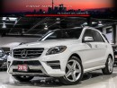 Used 2015 Mercedes-Benz ML 350 AMG|NAVI|360CAM|BLINDSPOT|PANO|LOADED for sale in North York, ON