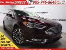 Used 2017 Ford Fusion SE| AWD| NAVI| LEATHER| SUNROOF| for sale in Burlington, ON