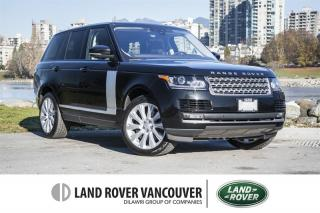 Used 2017 Land Rover Range Rover V8 Supercharged SWB *Certified Pre-Owned 6yr/160,000km Warranty! for sale in Vancouver, BC