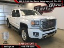Used 2015 GMC Sierra 2500 HD Denali-Diesel, heated/Cooled Leather, Navigation for sale in Lethbridge, AB