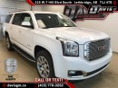 New 2017 GMC Yukon XL 4WD, 7 Passenger, Blu-ray DVD Package, Heated/Cooled Seats for sale in Lethbridge, AB