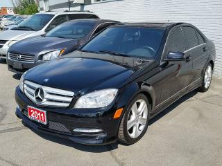 Used 2011 Mercedes-Benz C-Class C 300 for sale in Brampton, ON