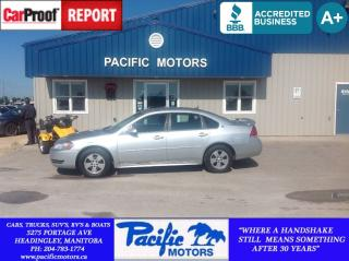 Used 2009 Chevrolet Impala LS for sale in Headingley, MB