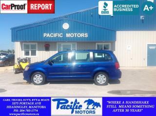 Used 2013 Dodge Grand Caravan SE/SXT for sale in Headingley, MB